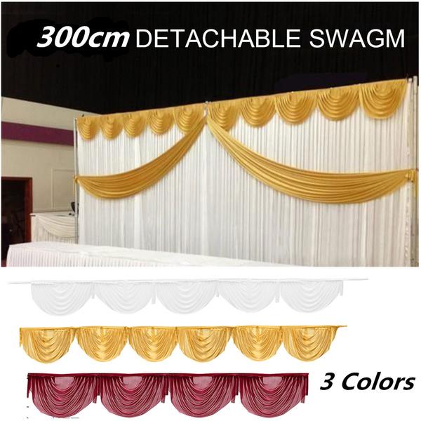 backgrounddecoration, weddingbackdropswag, partycurtain, partydecorationsampfavor