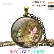 angelnecklace, fairypendant, fairygift, Jewelry