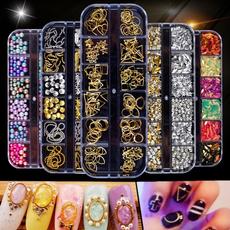 nail decoration, Decor, nail tips, Colorful