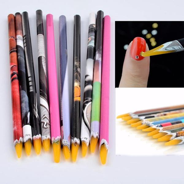 manicure tool, pencil, crayonpen, dottingpen