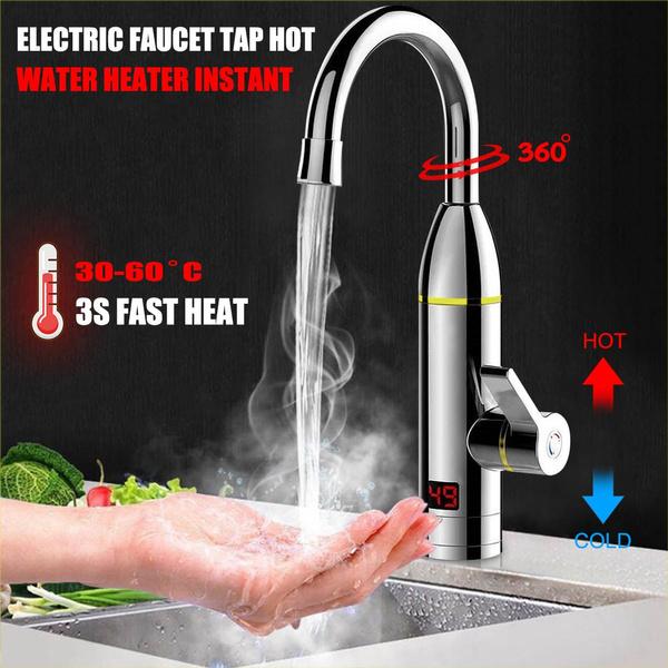 bathroomfaucet, electricfaucettap, Home Supplies, heatingfaucet