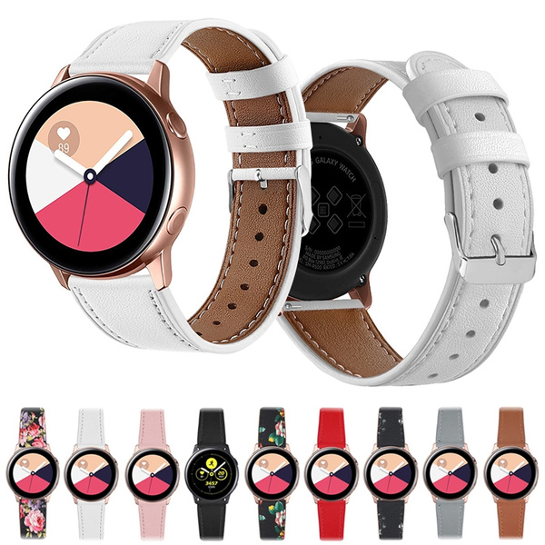 galaxywatch42mmbandwomen, galaxywatchactive244mmstrap, Samsung, leather