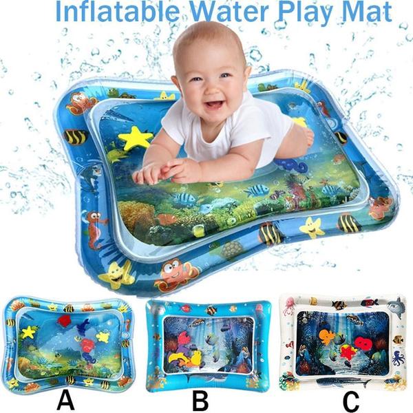 Baby, infantsinflatableplaymat, Toy, babyplaymat
