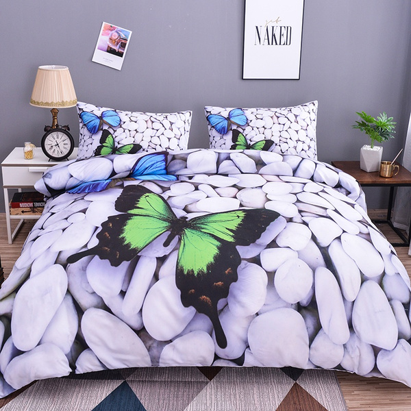 3d Erfly Bedding Sets Summer, Queen Size Holiday Bedding