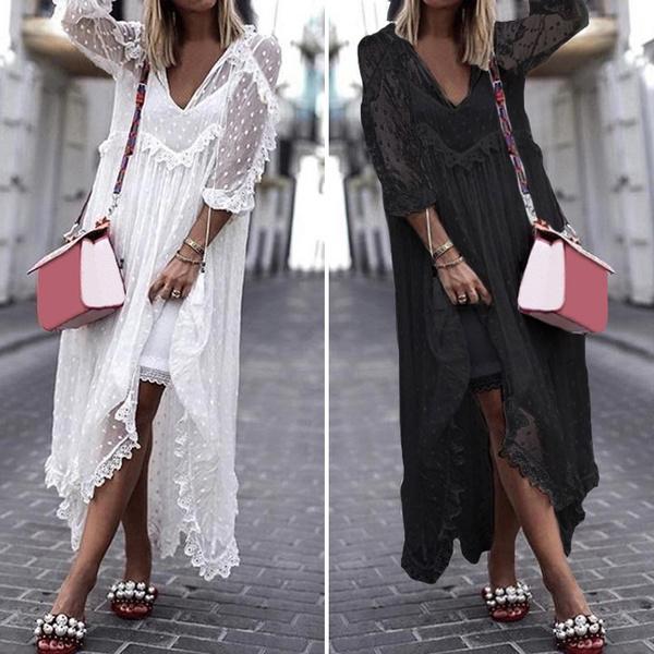 Summer, Lace Dress, Lace, maxides