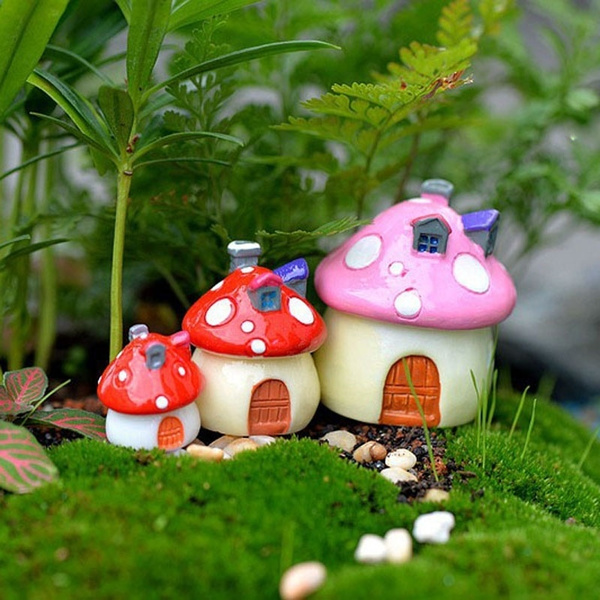 Bonsai, Plants, mushroomhouse, miniaturegarden
