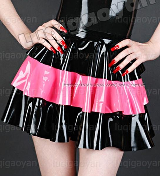 latex, minirock, Mini, Dress