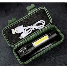 Flashlight, led, usb, Battery