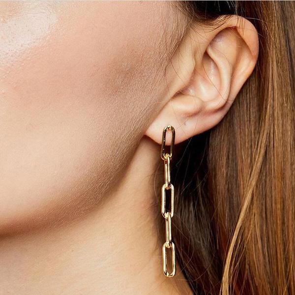 Fashion, Chain, Simple, Earring