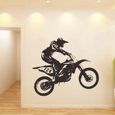 motorbikesticker, Wallpaper, art, walldecorsticker