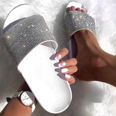 beach shoes, Flip Flops, Bling, Women Sandals