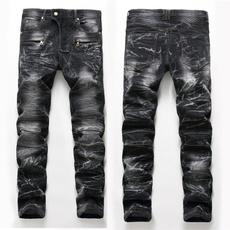 men jeans, Fashion, skinny pants, Elastic