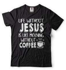 catholic, protestant, coffeetshirt, jesustshirt