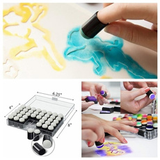 art, fingersponge, Craft, diy