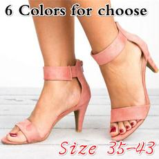 Summer, Sandalias, shoes for womens, Stiletto