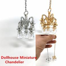 Mini, miniaturechandelier, miniaturelamp, minitoy