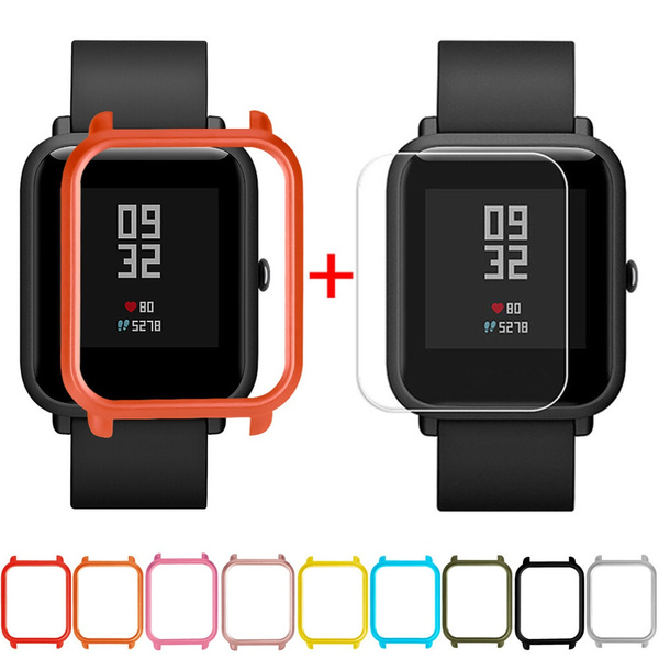 fullprotectivecase, Screen Protectors, caseforxiaomihuamismartwatch, pcprotectivecase