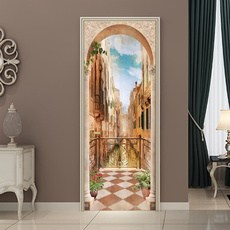 doorstickerdecal, decoration, doormural, Door