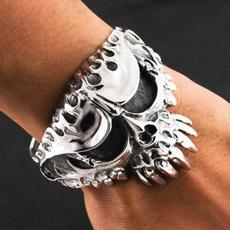 Charm Bracelet, Steel, bikerbracelet, Stainless Steel