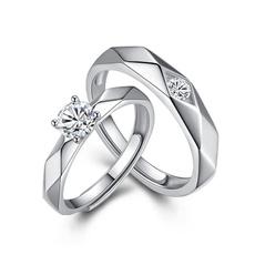 adjustablering, crystal ring, Women Ring, 925 silver rings