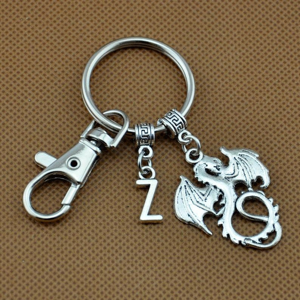 Key Chain, Jewelry, Gifts, initial