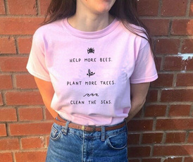 vegantshirt, Plants, Plus Size, helpmorebee