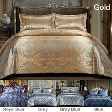 Blues, King, bedclothe, brown