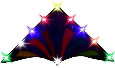 easytofly, led, kite, Colorful