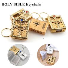 Mini, bible, Key Chain, Jewelry