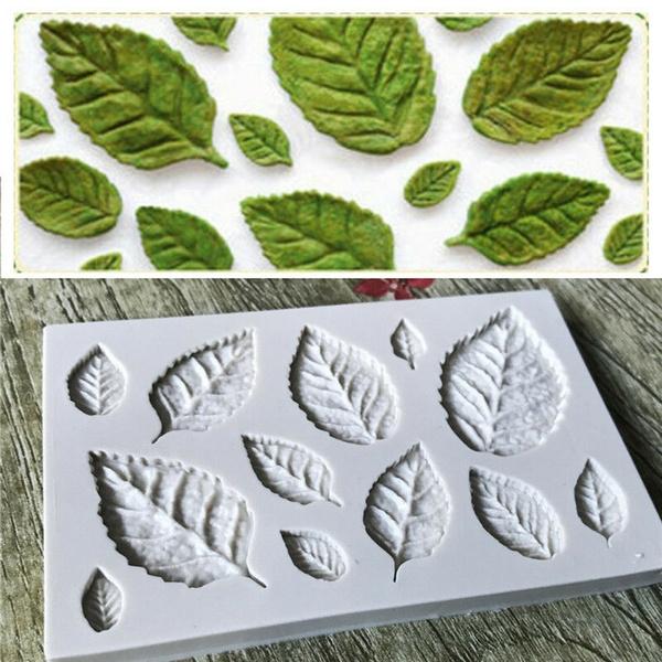 leaffondantmold, Silicone, siliconebakingmold, fondantmold