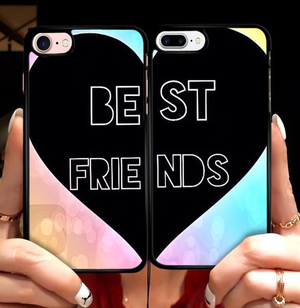 case, sonyxperiaz5case, bestfriendsheartcouplephonecase, Heart