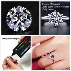 moissanite, Women Ring, labdiamondring, jewelrydiymaking