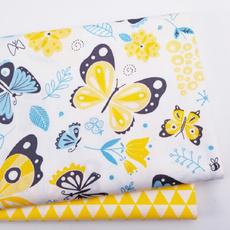 butterfly, handmadefabric, fabricsquare, Fabric