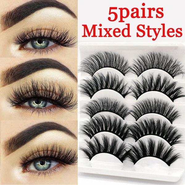 False Eyelashes, mink, eye, Beauty
