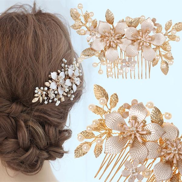 hairpincomb, partyhaircomb, rhinestonetiara, Jewelry