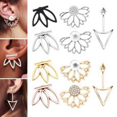 Chic, flower earrings, simpleearring, Earring