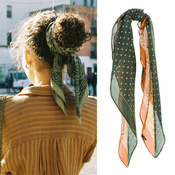 hair, Scarves, Fashion, Cotton