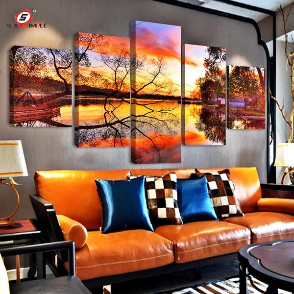 Decor, art, canvaspainting, wallartsticker