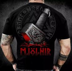 viking, Shorts, Shirt, Sleeve