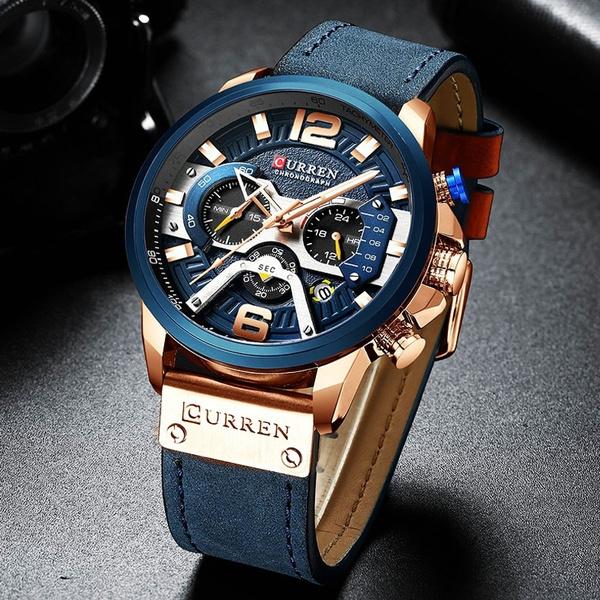 Chronograph, watchformen, Fashion, chronographwatch