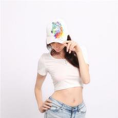 Baseball Hat, woman fashion, Cap, wolfpainting