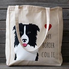 bordercolliegift, dogtote, Totes, Tote Bag
