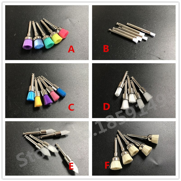 polishingpolisherprophybrushe, dental, Nylon