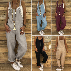 suspenders, Plus Size, pants, dungaree