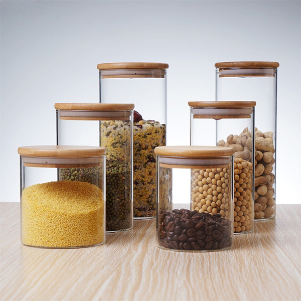 foodstoragecontainer, glassstoragejar, Kitchen Utensils & Gadgets, Kitchen Accessories