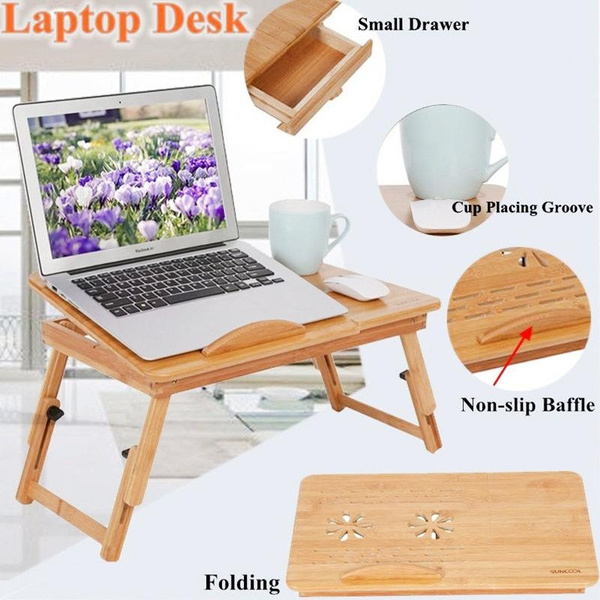 bambootable, Home & Living, Laptop, foldingtable