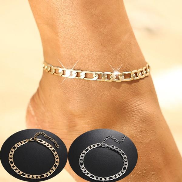 Summer, Fashion, ankletchain, Jewelry