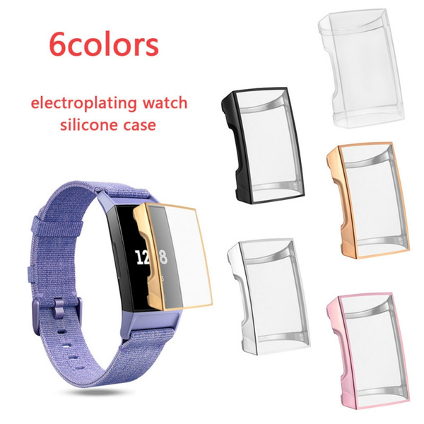 case, tpuprotection, smartwatchcover, fitbitcharge3shockproofcase