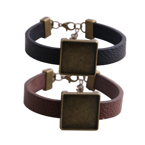 Antique, cabochonbracelet, Jewelry, braceletbasesetting