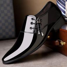 patent leather, derbyshoe, Plus Size, Men's Fashion